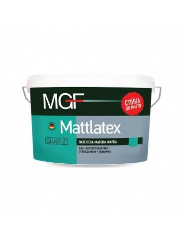 Краска MGF Mattlatex M100, латексная, для внутренних работ 14 кг