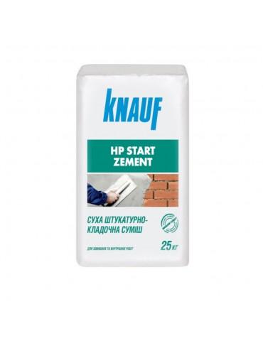 Цементная штукатурка Knauf HP Start 25кг