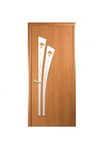 Дверное полотно Лилия Р1  Ольха 3d