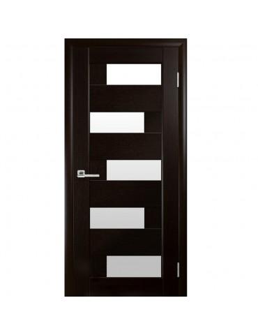Дверное полотно Пиана венге сатин