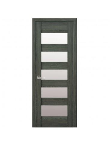 Дверное полотно Бронкс  BLK  Дуб графит