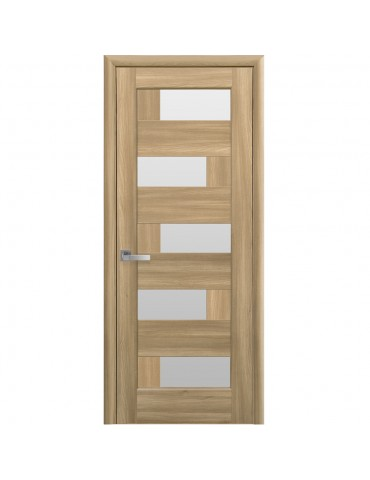 Дверное полотно Пиана Золотой дуб сатин