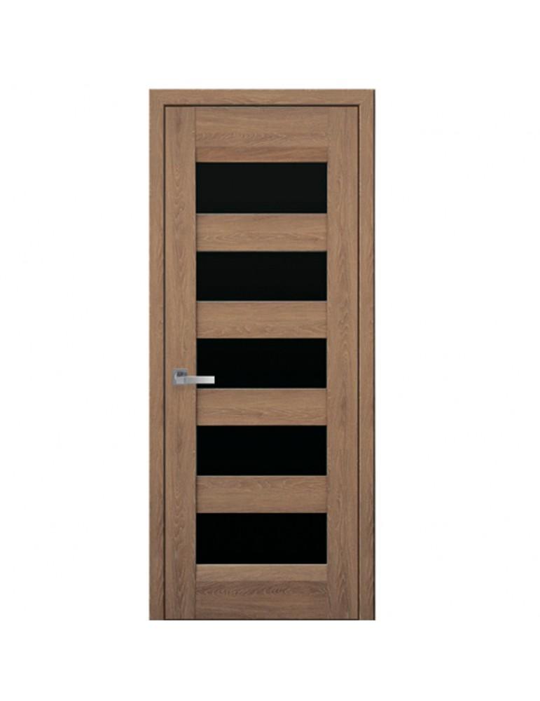 Дверное полотно Бронкс  BLK  Дуб янтарный