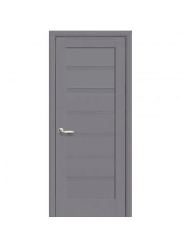 Дверное полотно Пиана антрацит глухая