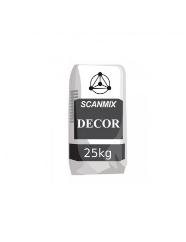 Штукатурка декоративная Короед Scanmix Decor 25кг