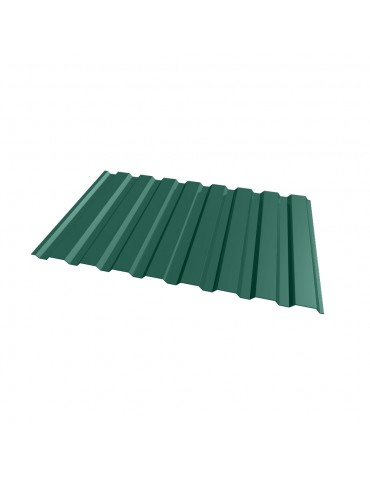 Профнастил кровельный цветной Зеленый мох RAL 6005 0,95x1,5м