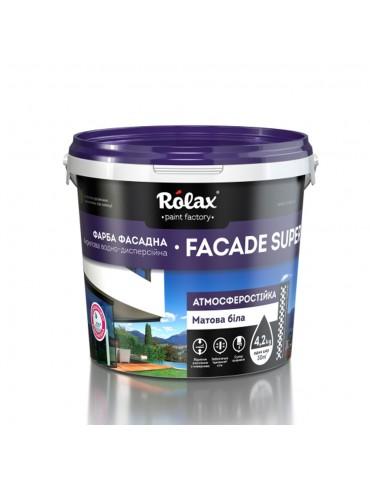 Краска фасадная Rolax Супер Фасад (Facade Super) 14кг