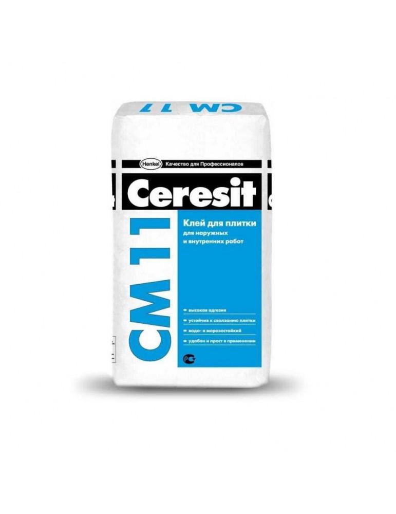Клей для плитки строительный Ceresit CM 11 25кг