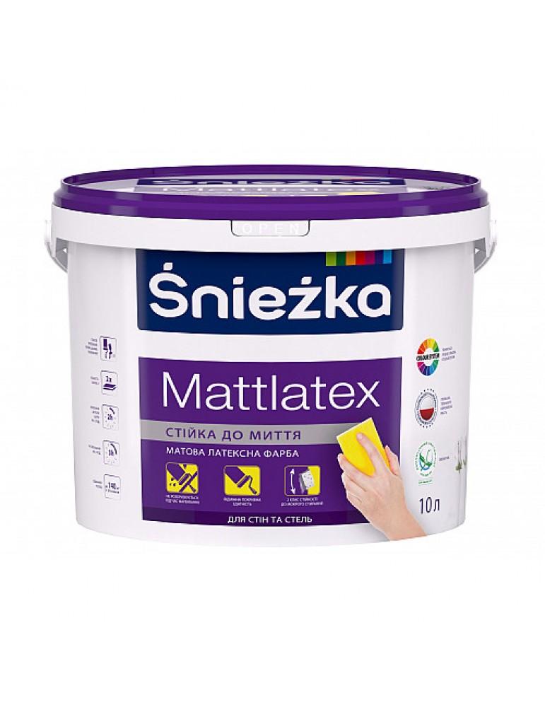 Фарба Śnieżka Mattlatex