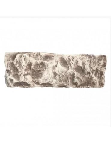 Плитка гипсовая для облицовки Колотый коричневый
