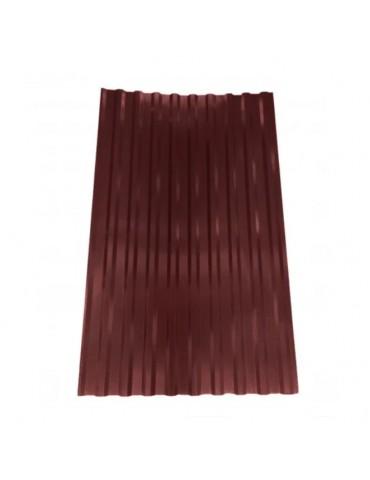 Профнастил кровельный цветной Шоколад RAL 8017 0,95x1,5м