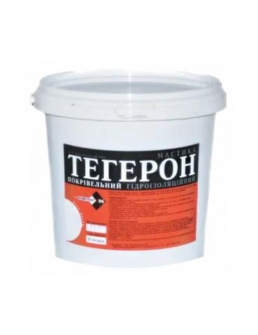Гидроизоляция битумная кровельная мастика Тегерон 6кг