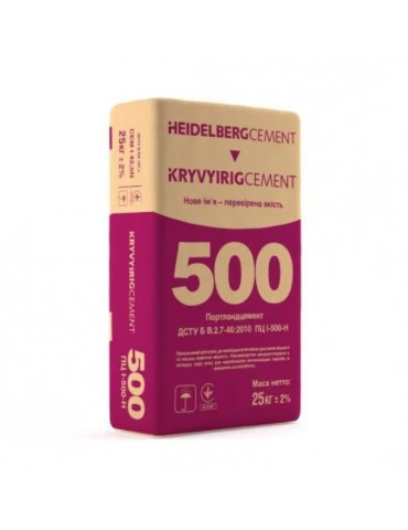 Цемент Heildelberg ПЦ II/А-Ш-500 25кг
