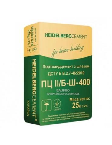 Цемент Heildelberg ПЦ II Б-Ш-400 25кг