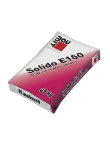 Смесь стяжка для пола Baumit Solido E160 25кг