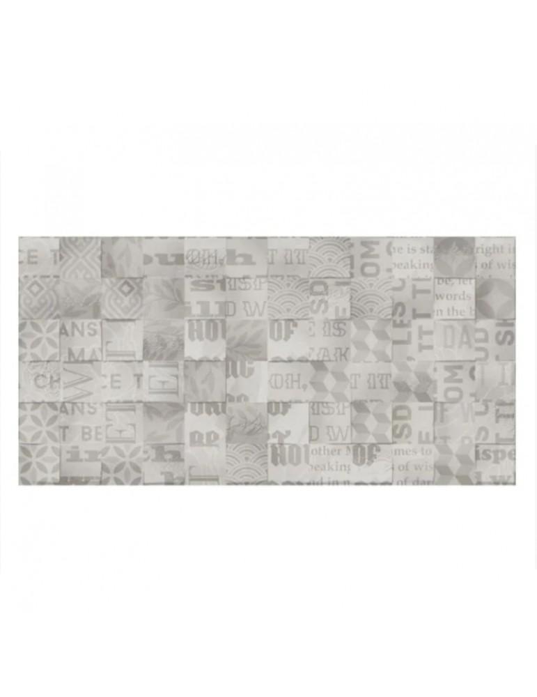 Кафель керамическая плитка Golden Tile ABBA Patchwork mix серый 30x60см