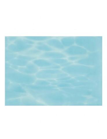 Кафель керамическая плитка Лазурь голубая 25x35см