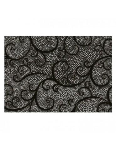 Кафель керамическая плитка Капри Жемчуг черный 25x35см