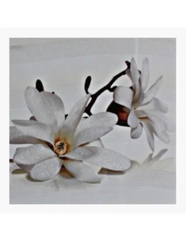 Кафель керамическая плитка Cersanit Флора кремовая декор 30x45см