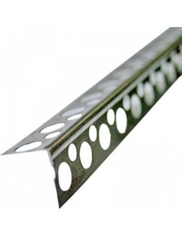 Перфоугол аллюминиевый 3м